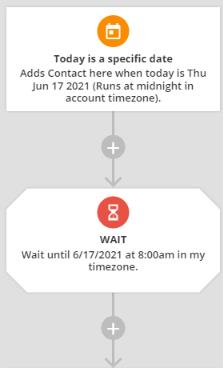 Ontraport Date Trigger Wait